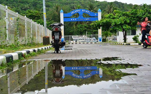 Gerbang Selamat Datang di Karimunjawa