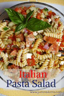 An Italian Pasta Salad Packed with Flavor