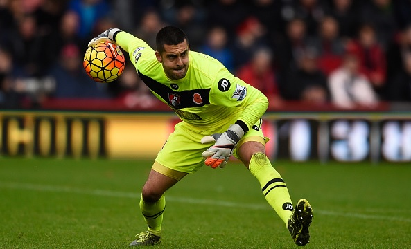 Adam Federici pens three year deal at Bournemouth
