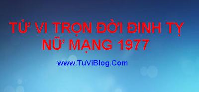 Xem Tu Vi Tron Doi Dinh Ti 1977