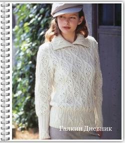 yaponskii-uzor-spicami | vyazanie | toxuculuq | knitting | حياكة | vyazanne | pletivo