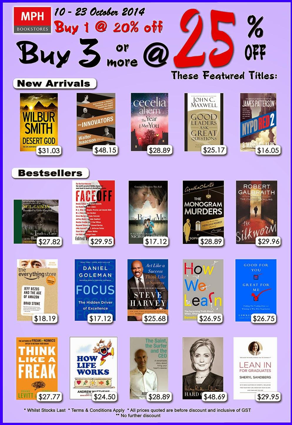 MPH Books - Buy 1 20% off d4f9517a7c36e