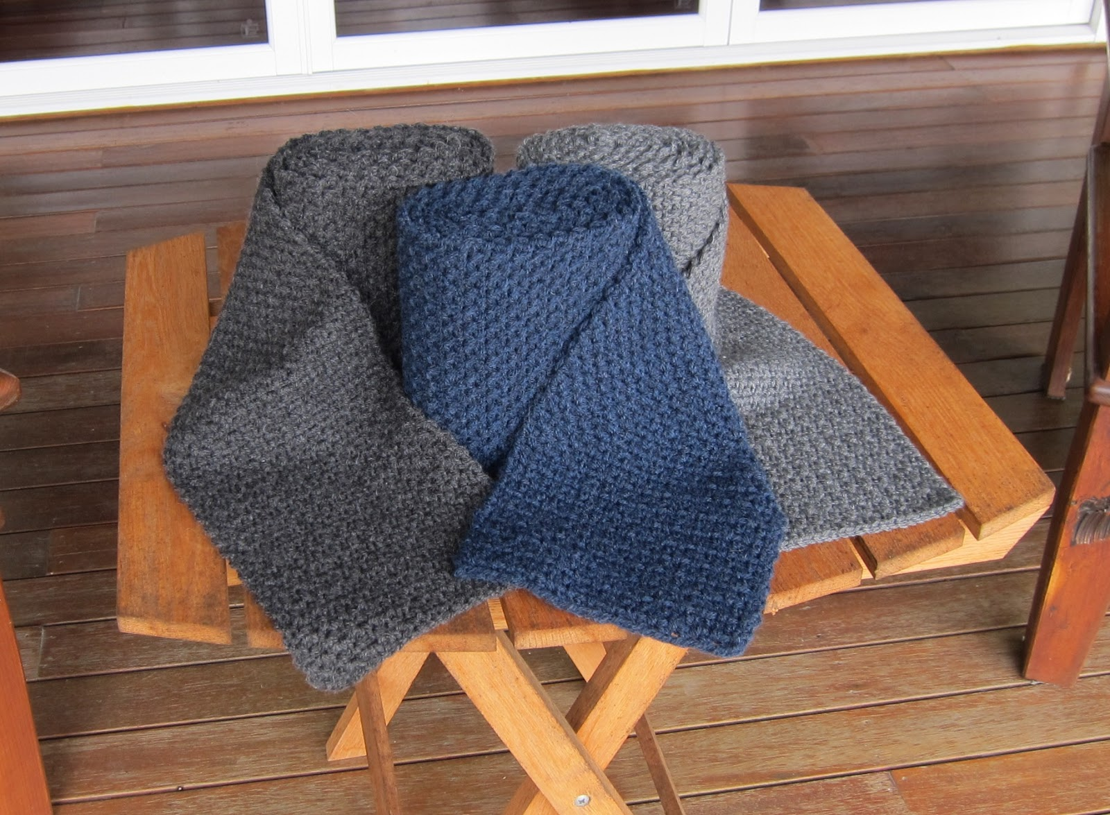 Crochet Obsession Make A Mans Scarf Using An Easy Crochet Pattern