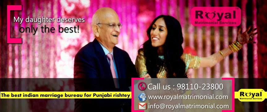 Royal Matrimonial Services for High class sikh and Punjabi