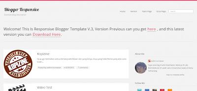 Blogger Responsive - Plantilla Responsive Blogger