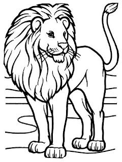 Desenhos de leão