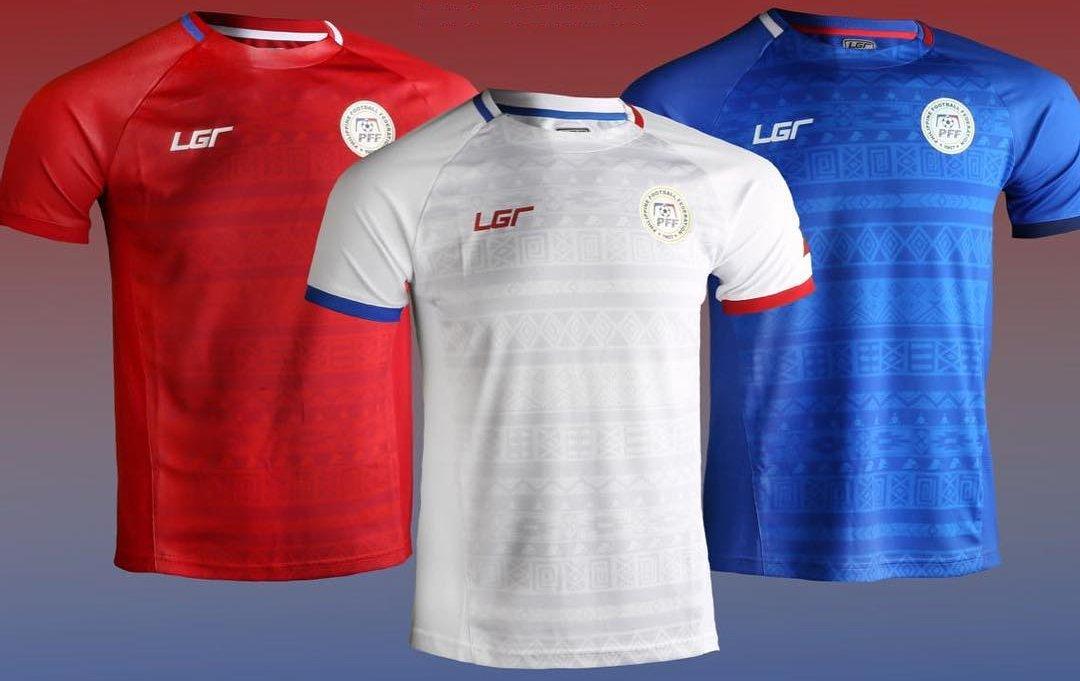 8c324d94e6 LGR apresenta as novas camisas da seleção das Filipinas - Show de ...