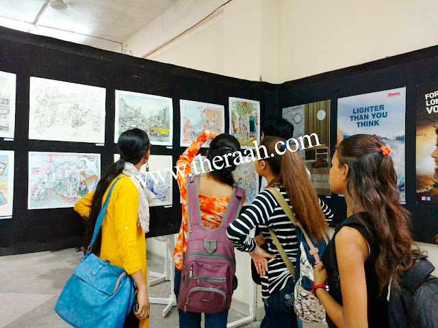 RAAH NGO ART COLLEGES EDUCATION TOUR - 2017 Students were taken to show the Education Exhibition (Education Tour). The College Exhibition had Different style Arts such as Paintings, Poster Design, Digital Art, Collage Painting, Sculpture etc…About the art the teacher told the students about different Artwork, that the students knew the technique of Different Arts & found  knowledge.  Like & Subscribe JOIN US & SUPPORT US