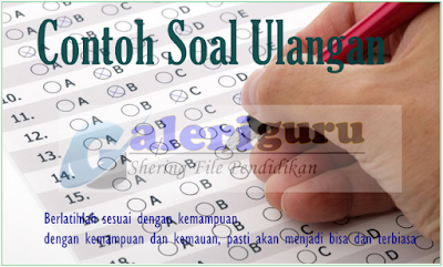 Soal Try Out USBN Bahasa Indonesia SD/MI Tahun 2019_Galeri Guru