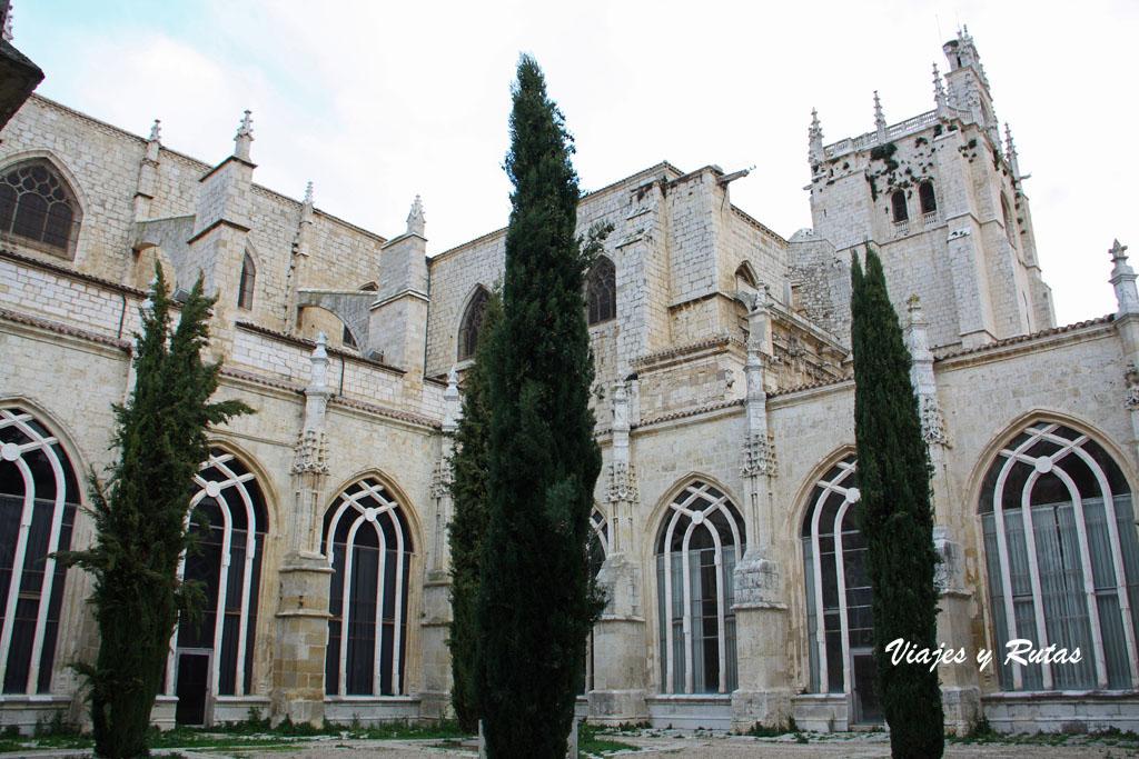 Claustro de la catedral de Palencia
