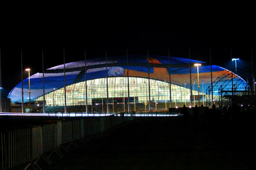 Sochi 2014 Olympic Park venue Ice Palace Bolshoy Olympic Games