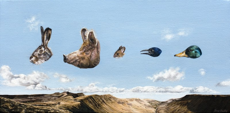 Contemporary Surrealism by Amy Guidry from Louisiana.