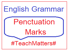 image : English Grammar - Punctuation Marks @ TeachMatters