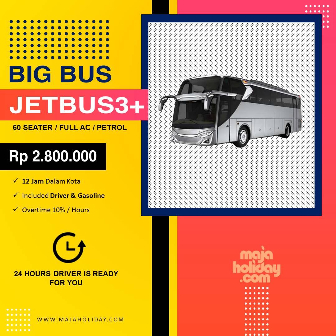 Gambar Sewa Mobil Big Jet Bus3+