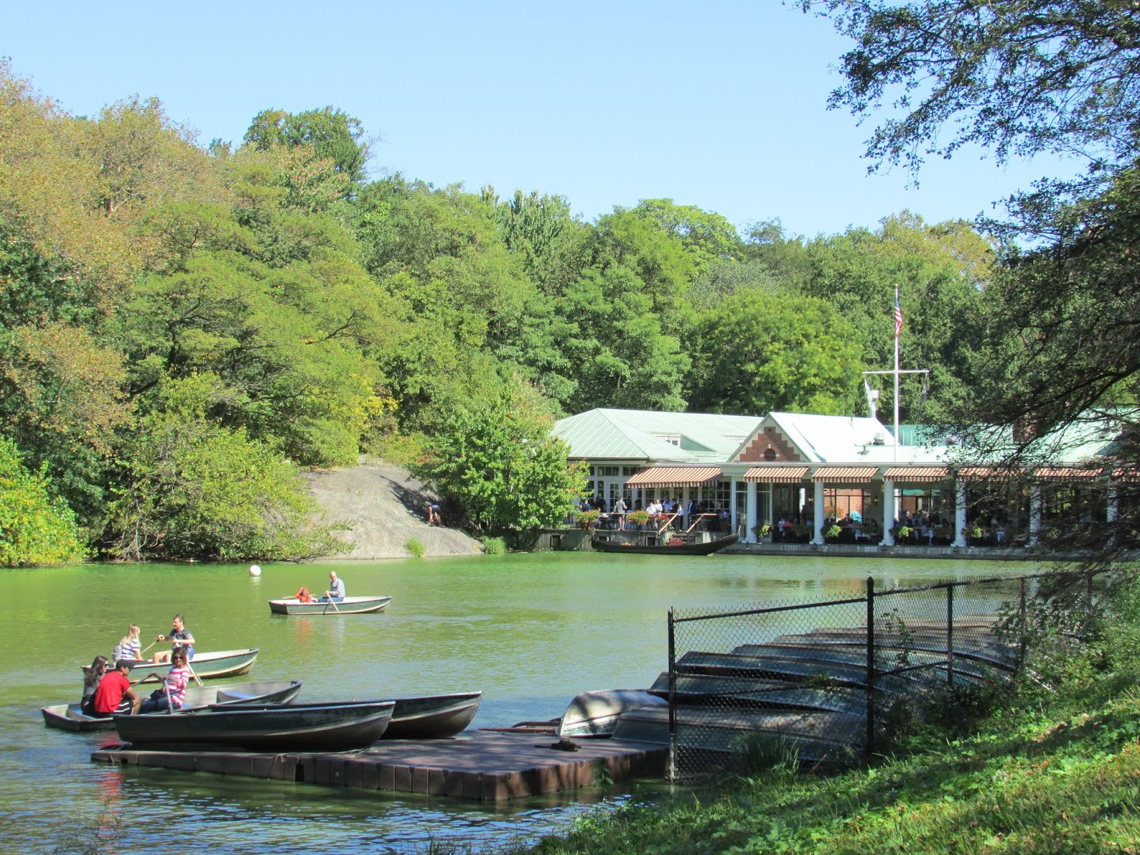 The Loeb Boathouse, Central Park, New York - Maggie May