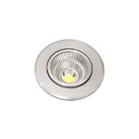 7W 2.5吋 COB LED投射崁燈 7cm嵌入孔,燈頭可調整角度