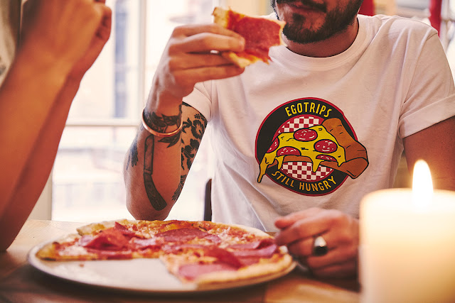 EGOTRIPS  - STILL HUNGRY CAPSULE | FASHION x PIZZA IM BUNDLE