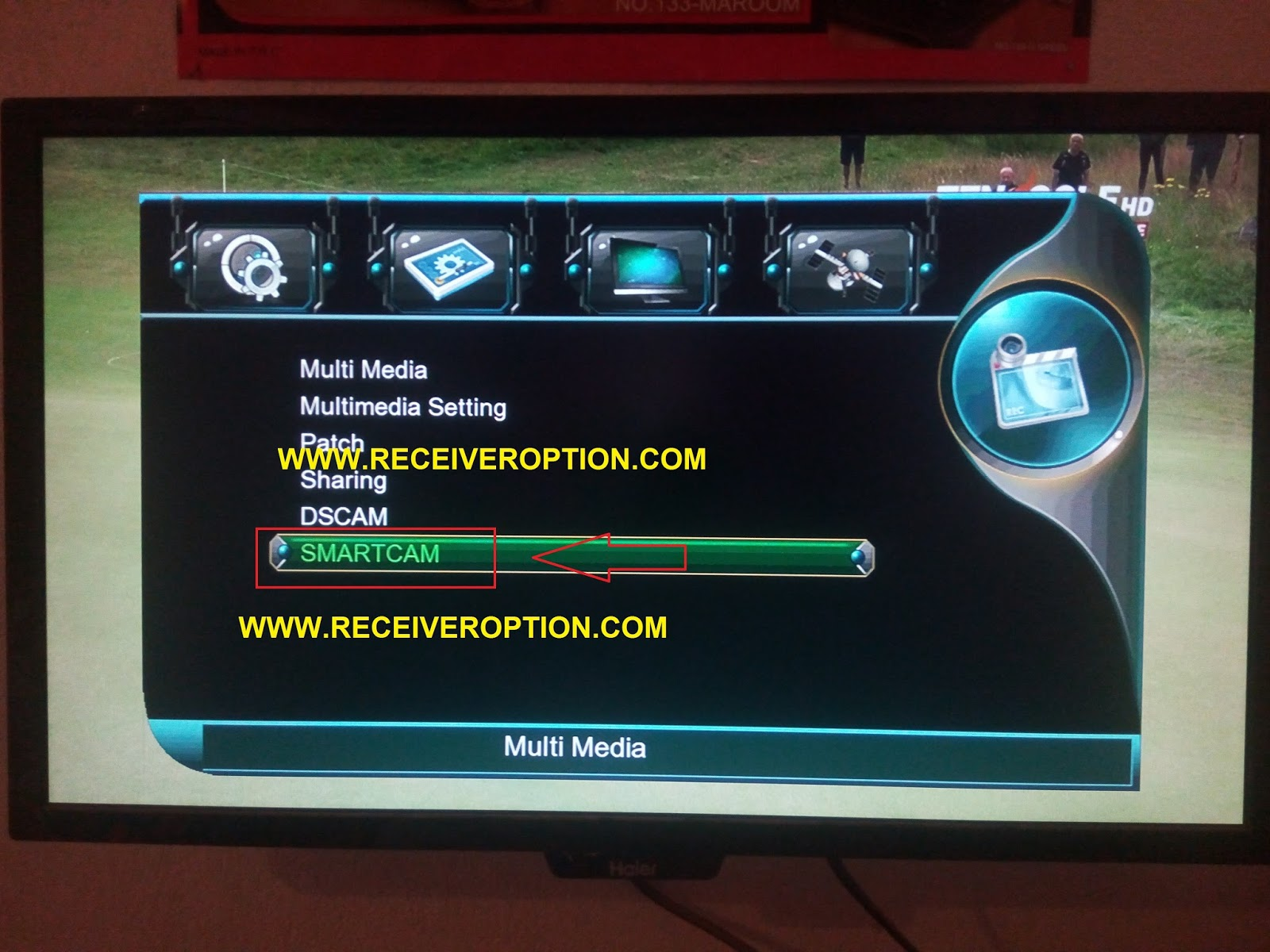 HOW TO INSTALL SMARTCAM SOFTWARE IN MULTIMEDIA RECEIVER