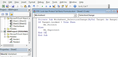 Auto Toggle Sheet Protection With VBA