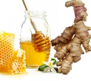 الزنجبيل والعسل