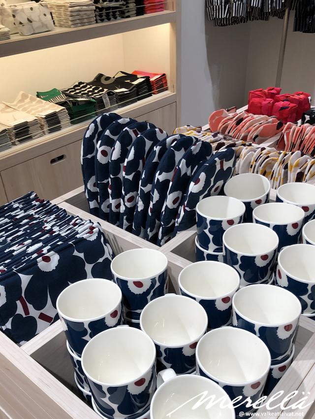 Silja Serenaden uusi Marimekko-myymälä