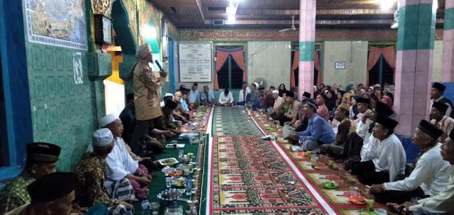 Masyarakat Karang Dapo, Tumpah Ruah Dalam Tausiah Bersama Ustat Aidil