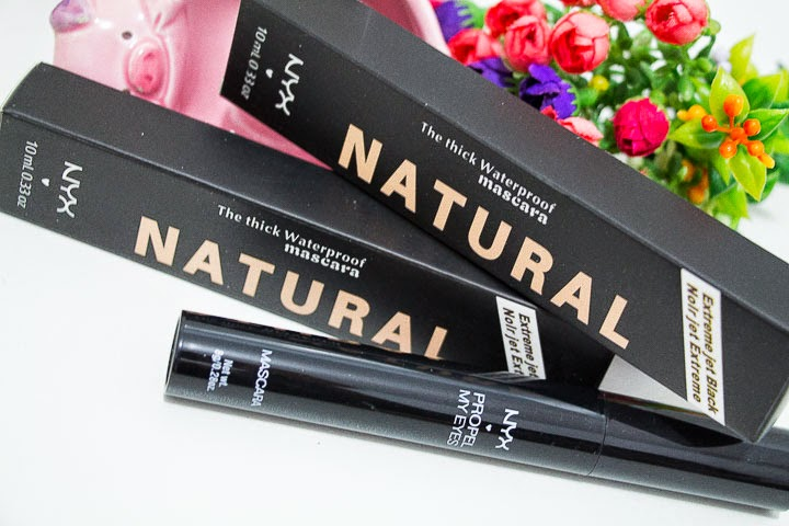 NYX NATURAL BLACK WATERPROOF Mascara