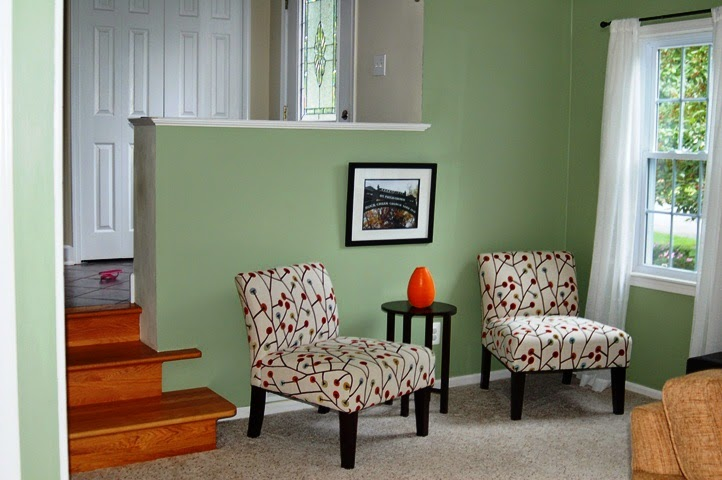Green Living Room Ideas For Soothing Sophisticated Spaces: Wall Paint Colors Green For Home