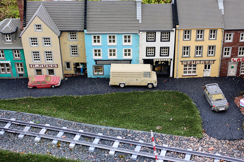 legoland miniture village