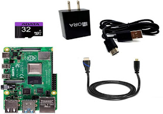 Kit Raspberry Pi 4 Modelo B (4GB)