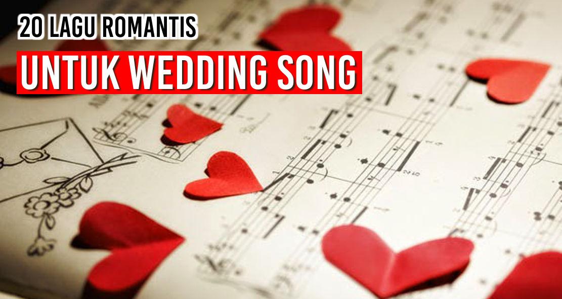 20 lagu romantis yang bisa Anda pilih untuk wedding song pernikahan Anda