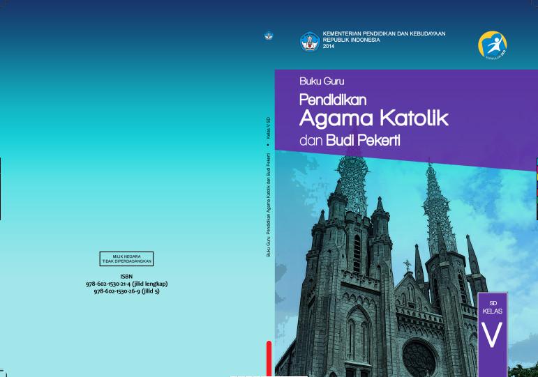 Download Gratis Buku Guru Pendidikan Agama Katolik dan Budi Pekerti Kelas 5 SD Kurikulum 2013 Format PDF