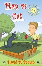 Man vs Cat by David M. Brown book cover