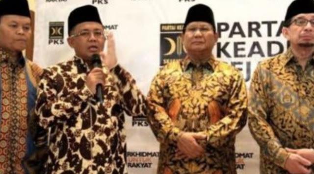 PKS Ikhlas Jika Ditinggal Gerindra Gabung Jokowi-Ma'ruf