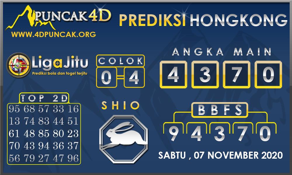 PREDIKSI TOGEL HONGKONG PUNCAK4D 07 NOVEMBER 2020