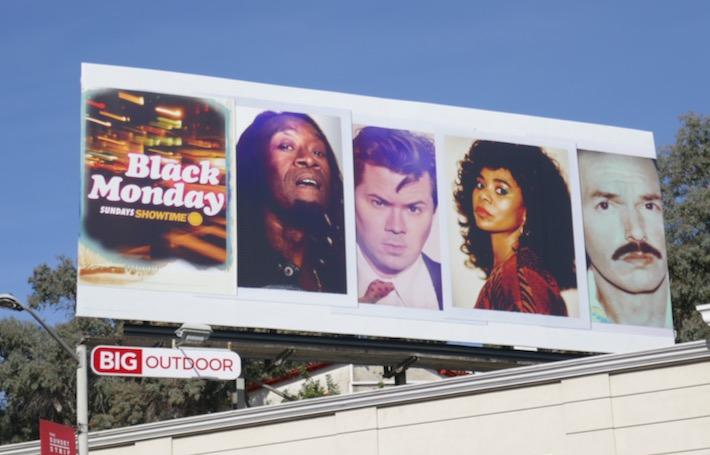 Black Monday season 2 billboard