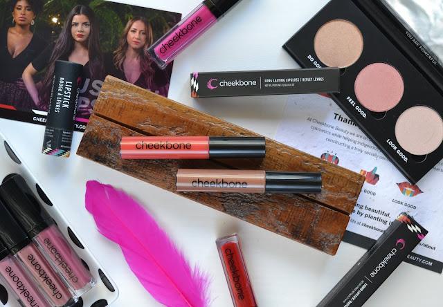 Cheekbone Beauty Lipgloss in Agave and Sundance