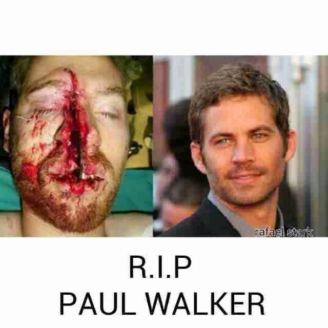 Paul Walker Face After Crash - Bing images