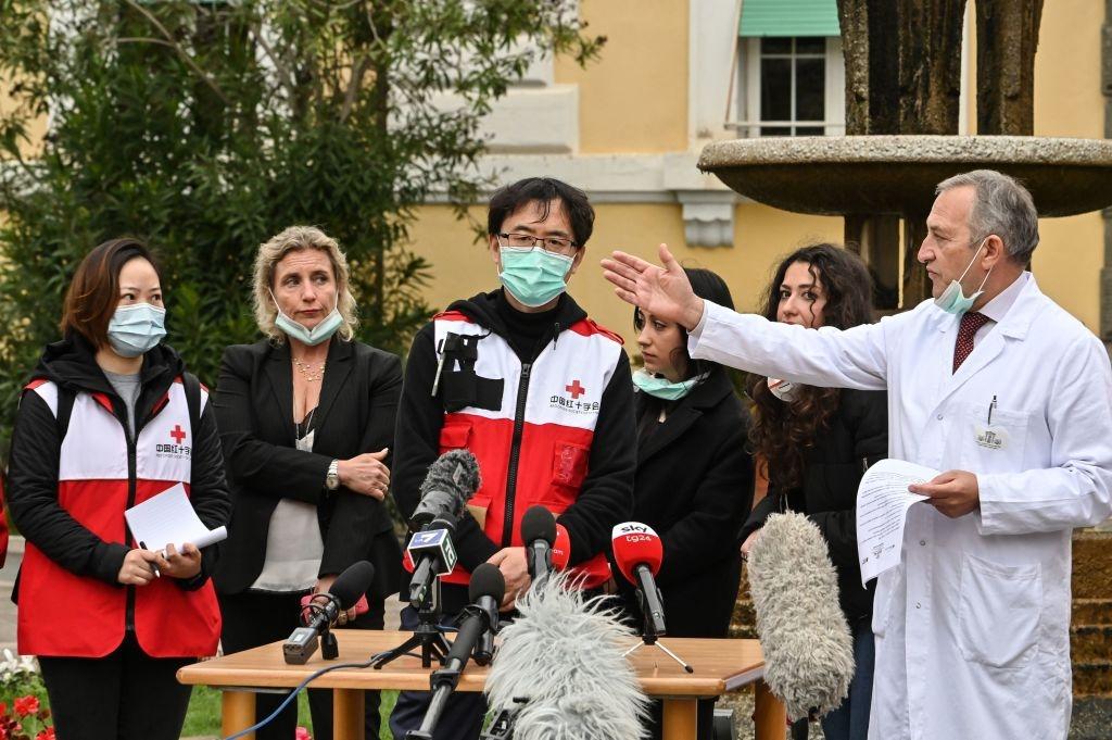 Coronavirus: la campaña de propaganda de China en Europa