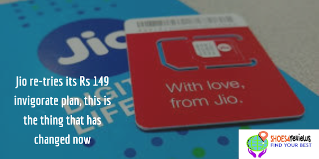 Jio recharge updates:Jio re-tries its Rs 149 invigorate plan, this is the thing that has changed now