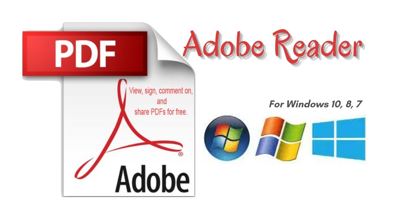 Adobe Reader Offline Installer For Windows 10, 8, 7