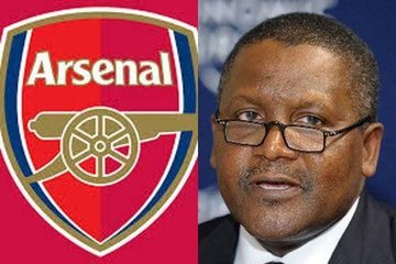 """I'm Buying Arsenal"" - Nigerian Billionaire, Africa Richest Man Aliko Dangote Confirms Club Plans!"