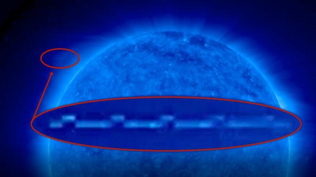 Strange Anomalies seen around the Sun  Strange%2BAnomalies%2Bseen%2Baround%2Bthe%2BSun