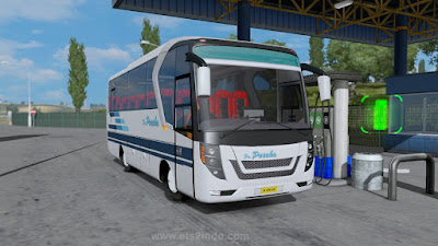 Mod Bus Medium Laksana Tourista - ETS2 1.36 - 1.37