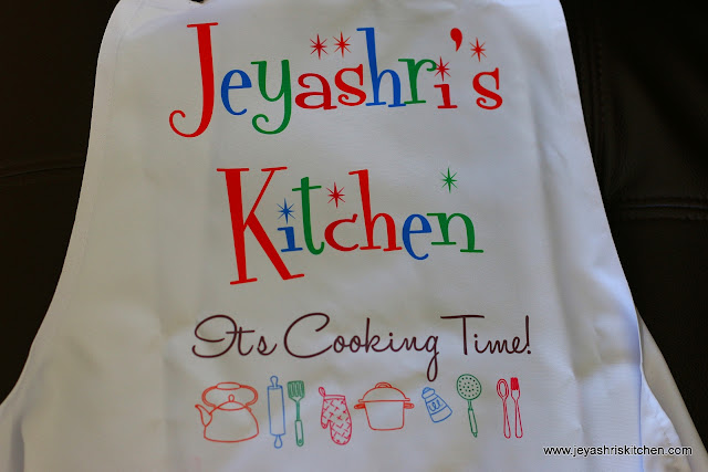 jeyashris kitchen apron