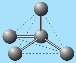 Bentuk molekul CH4