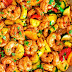 How to Cook Cajun Shrimp with Vegetables