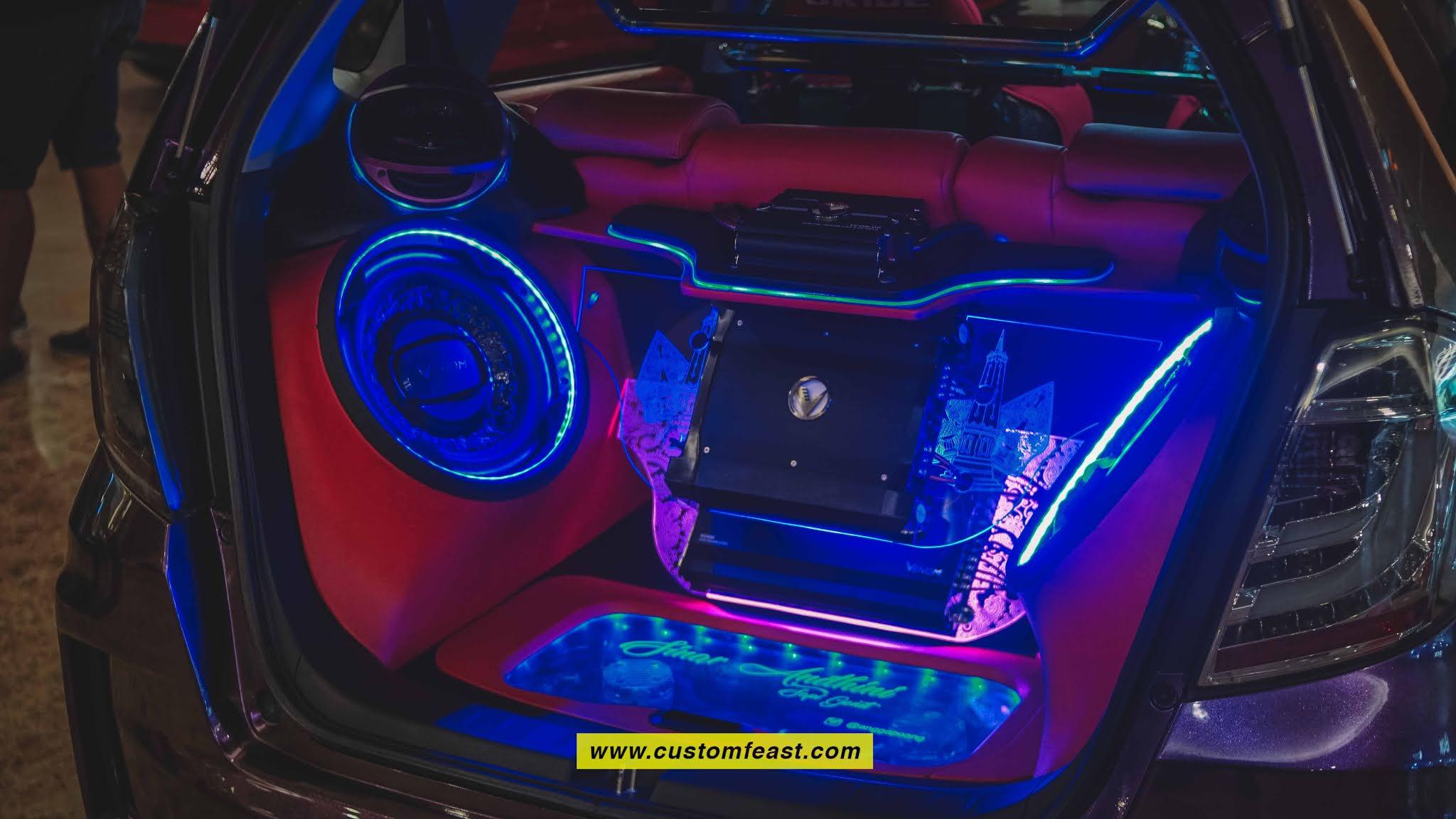 Audio Honda Jazz Modified Interior Street Racing Cars