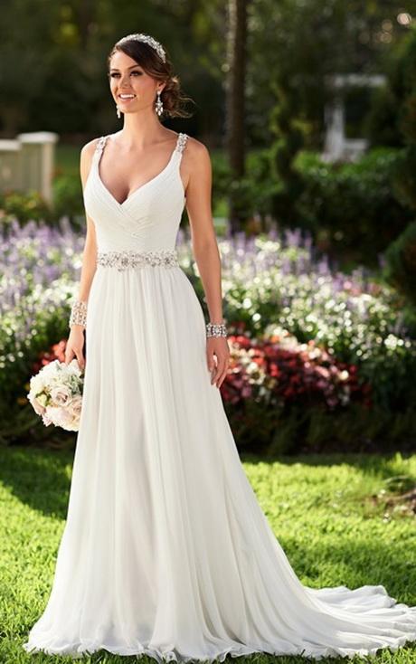 vestidos de novia de playa 2016