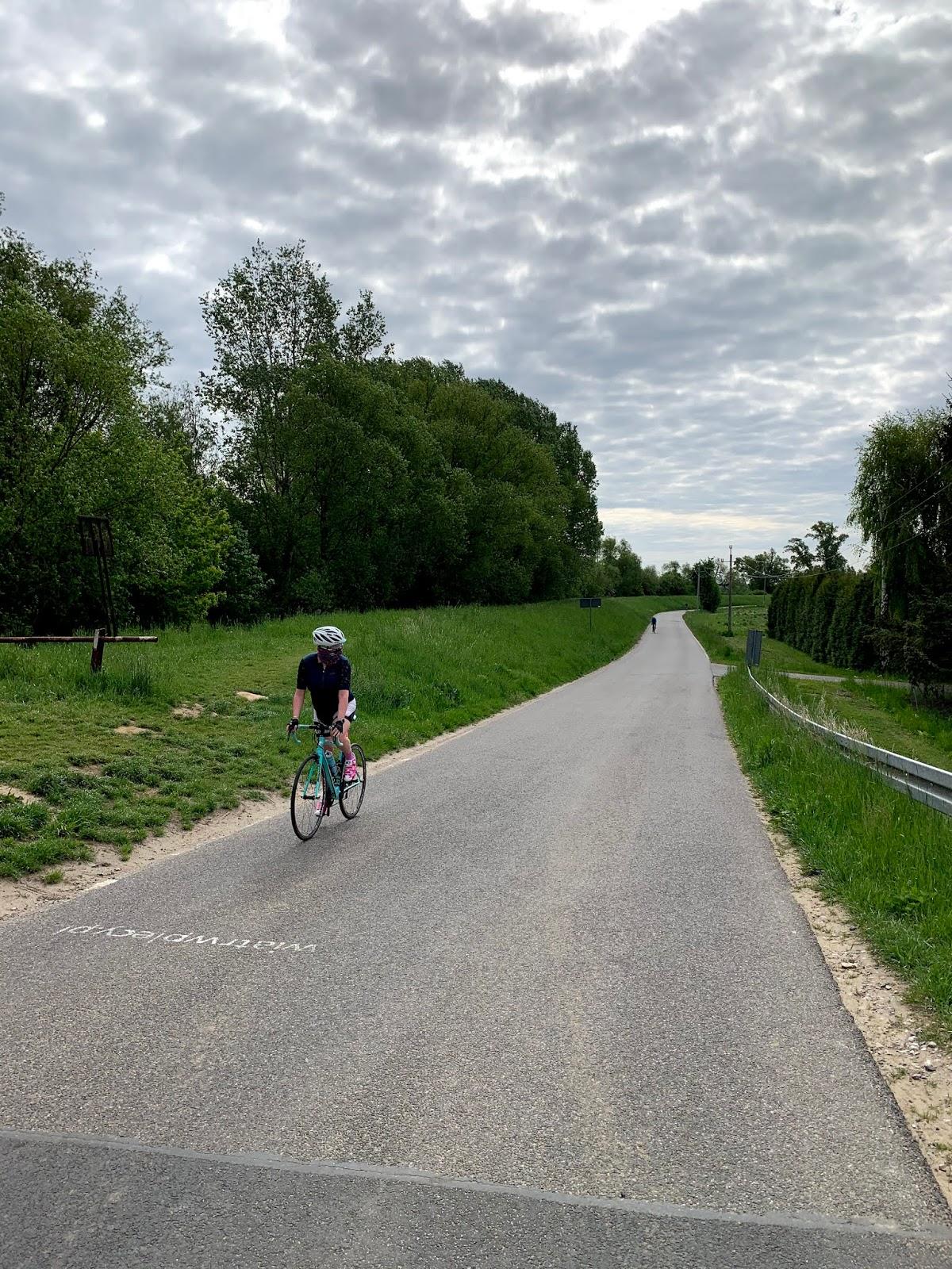Pandemiczne rowerowanie